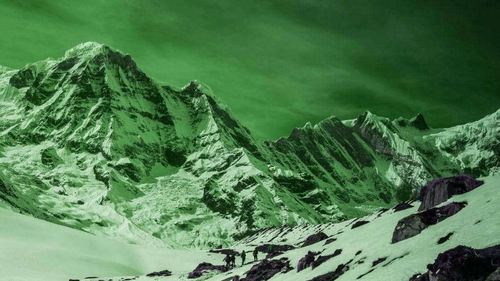 mountain scaled